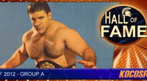 Bruno Sammartino inducted into the Kocosports.com Combat Sports Hall of Fame