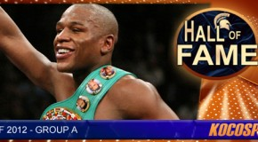 Floyd Mayweather Jr. inducted into the Kocosports.com Combat Sports Hall of Fame