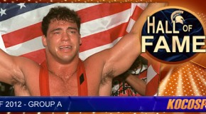 Kurt Angle inducted into the Kocosports.com Combat Sports Hall of Fame