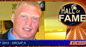 Brock Lesnar inducted into the Kocosports.com Combat Sports Hall of Fame