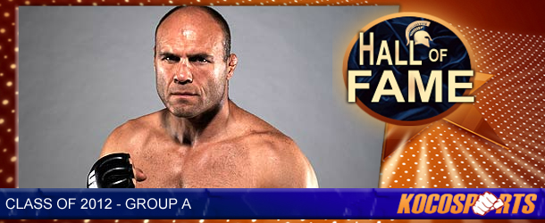 Randy Couture inducted into the Kocosports.com Combat Sports Hall of Fame