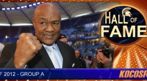 George Foreman inducted into the Kocosports.com Combat Sports Hall of Fame