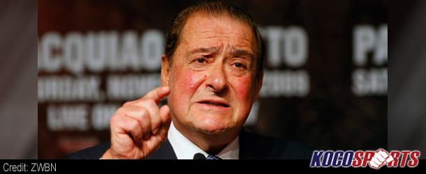 Bob Arum says Mayweather vs. Pacquiao could happen in 2014