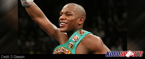 Floyd Mayweather released from Las Vegas jail