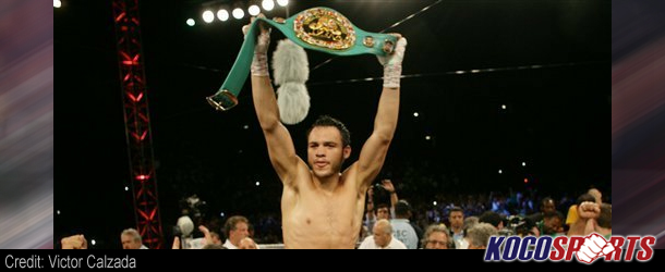 Julio Cesar Chavez Jr. stops Andy Lee in 7th round
