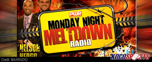 Audio: PWR's Monday Night Meltdown – 09/17/12 – (Full Show)