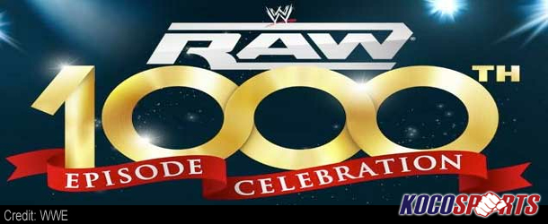 WWE officials to treat the 1000th episode of Raw as a pay-per-view quality event