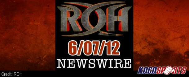 ROH Newswire – 06/07/12 – (Ring of Honor's return to Pittsburgh, PA)