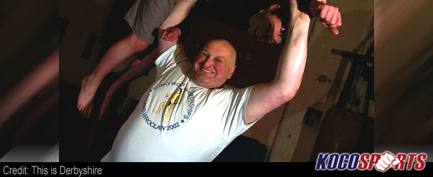"""Gym owner """"Sumo Steve"""" chosen to lift Olympic torch after helping so many people"""