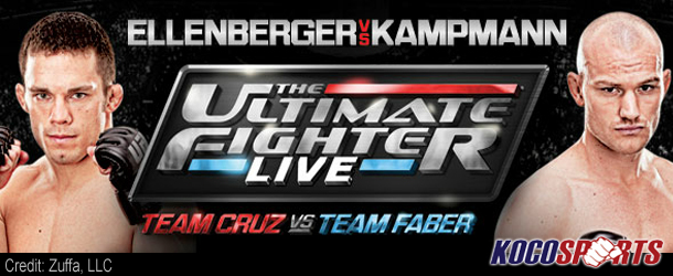 The Ultimate Fighter Live Finale results – 06/01/12 – (Kampmann KO's Ellenberger)