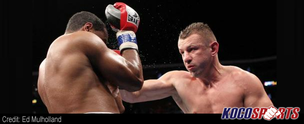 Tomasz Adamek outpoints Eddie Chambers for the IBF North American heavyweight championship