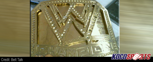 Image of the new prototype for the WWE championship belt leaked online