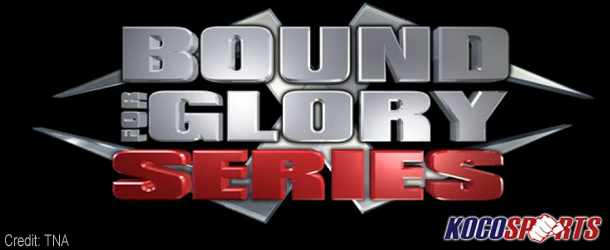 "Updated standings in the TNA ""Bound for Glory"" series"