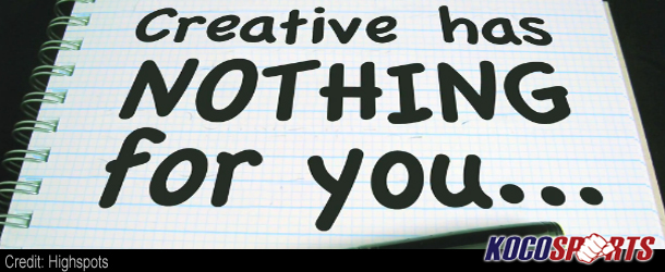 "Video: Creative has nothing for you – 09/16/12 – Episode 66 – (""WHAT?"")"
