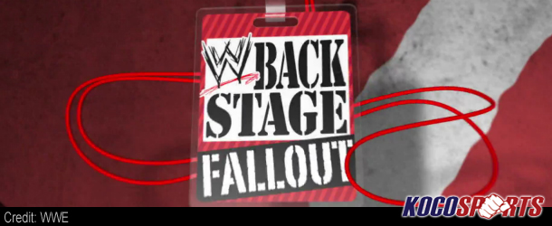 Video: Backstage Fallout – SmackDown – November 16, 2012