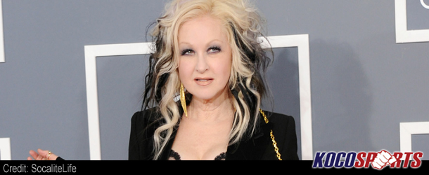 Cyndi Lauper makes her return to WWE this Monday on Raw