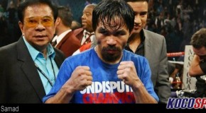 "Manny Pacquiao bout is ""all or nothing"" for Timothy Bradley"