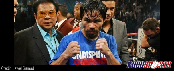 Manny Pacquiao set to face Timothy Bradley in April