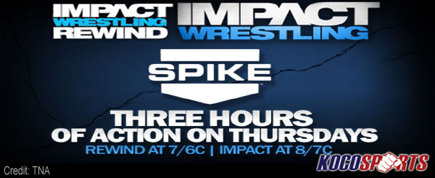 TNA Impact Wrestling extends to three hours starting this Thursday night on Spike TV