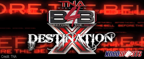 Video: TNA Before the Bell – Destination X – 07/02/12 – (Full Show)