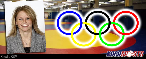 Video: USA women's wrestling trainer Carrie Harmon-Moore talks about the Olympic training camp