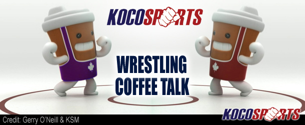 Video: Wrestling Coffee Talk – 07/20/12 – (Dark Knight Rises and Terry Brands)