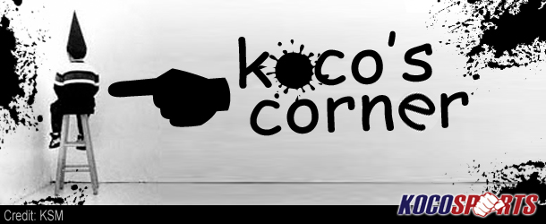 "Column: Koco's Corner #56 – (The Three Combat Sports ""Stars of the Week"" of 12/9 to 12/15 2012)"