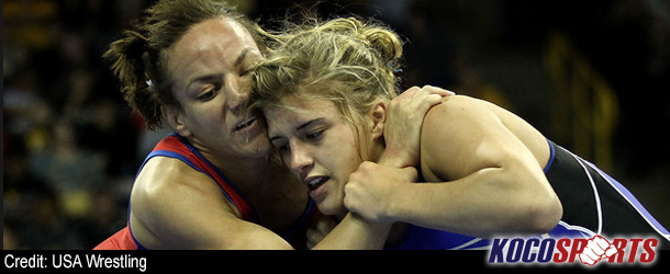 Campbell, Bernard weigh in and receive draws for Olympic women's freestyle wrestling on Aug. 9