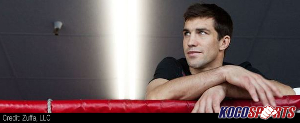 UFC's Luke Rockhold lands the cover of Men's Fitness Magazine UK