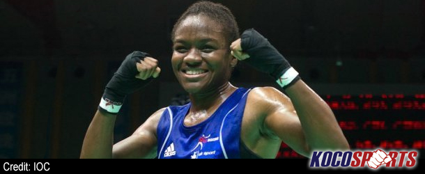 Coronation Street extra, Nicola Adams, going after Olympic gold