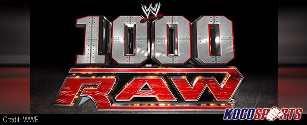 Video: Breaking coverage of WWE's 1000'th episode of Monday Night Raw – 07/23/12 – (Live @ 8PM EST.)
