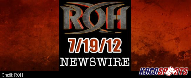 ROH Newswire – 07/17/12 – (Details on Caged Hostility, Boiling Point 2012 & More!)