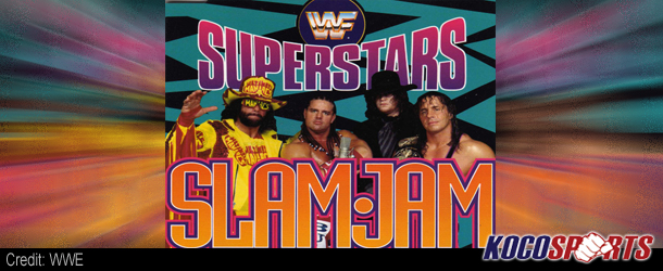 """Music Video: """"Slam Jam"""" featuring the WWF Superstars – 1992 – (Produced by Simon Cowell)"""