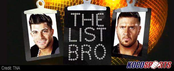 "Video: TNA's ""The List"" with Robbie E – 07/14/12 – (Can SoCal Val get on ""The List"")"