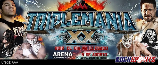 """AAA TripleManía XX results – 08/05/12 – (Dr. Wagner, Jr. wins """"Mask vs. Mask""""; Kurt Angle in Mexico!)"""