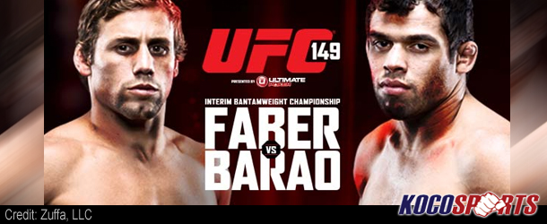 UFC 149: Faber vs Barao Results, Awards & Post-fight Press Conference (Barao beats Faber for 19th straight win UFC 149)