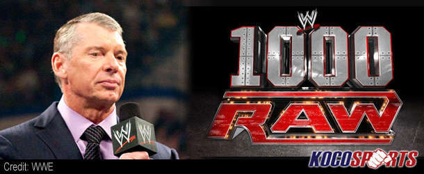 Mr. McMahon spills all as we head towards the 1000th episode of WWE Monday Night Raw