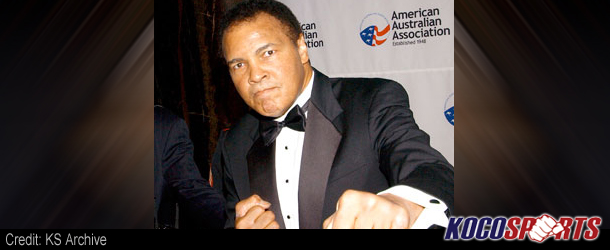 """Muhammad Ali: """"What do you think Dana White, am I the first MMA fighter?"""""""