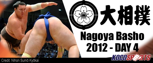 JSA Nagoya Basho – Day 4 Recap – 07/11/12 – (Hakuho, Baruto, Harumafuji remain on top!)