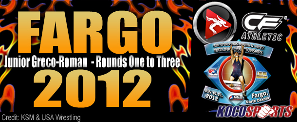 Video: Fargo 2012 – Junior Greco-Roman – Rounds One to Three – 07/16/12 – (Full Event Playlist)