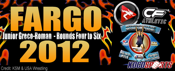 Video: Fargo 2012 – Junior Greco-Roman – Rounds Four to Six – 07/16/12 – (Full Event Playlist)