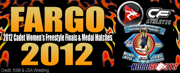 Video: Fargo 2012 – Cadet Women's Freestyle Finals & Medal Matches – 07/14/12 – (Full Event Playlist)