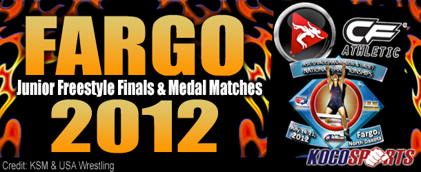 Video: Fargo 2012 – Junior Freestyle Finals & Medal Matches – 07/21/12 – (Full Event Playlist)