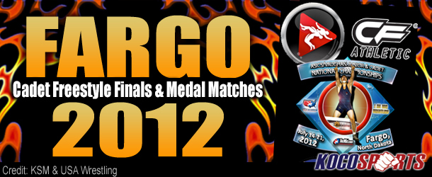 Video: Fargo 2012 –  Cadet Freestyle Finals & Medal Matches – 07/20/12 – (Full Event Playlist)