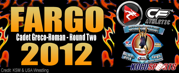 Video: Fargo 2012 – Cadet Greco-Roman Round Two – 07/15/12 – (Full Event Playlist)