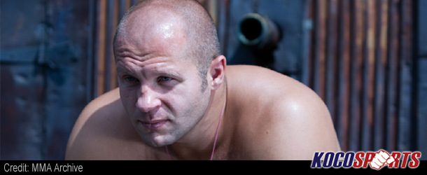 "Video: Fedor Emelianenko – ""Women should not be in MMA, they should be at home raising children and being feminine"""