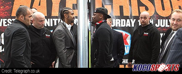 Video: David Haye vs. Dereck Chisora – 07/14/12 – (Full Fight)