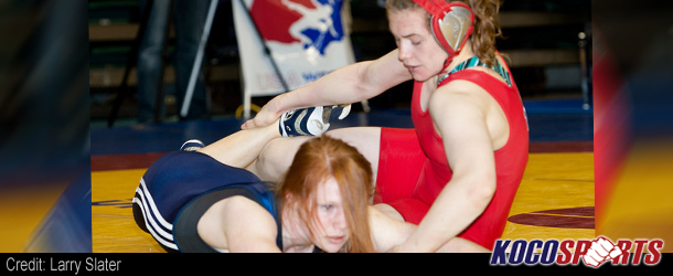 Video: Junior World Teamer, Jennifer Page, talks about wrestling at the Olympic trials
