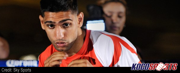 Amir Khan is a leading contender to fight Floyd Mayweather Jr.