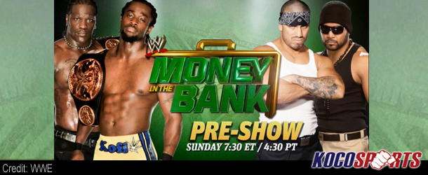 "Video: WWE ""Money in the Bank"" – Pre-Show – 07/15/12 – (Live @ 7:30PM EST.)"